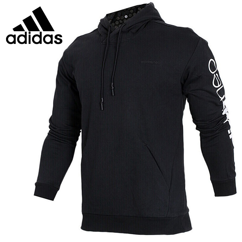 Original New Arrival 2018 Adidas NEO Label M CS HDY DT PRT Men's Pullover Hoodies Sportswear original new arrival 2018 adidas neo label ce hoodie women s pullover hoodies sportswear