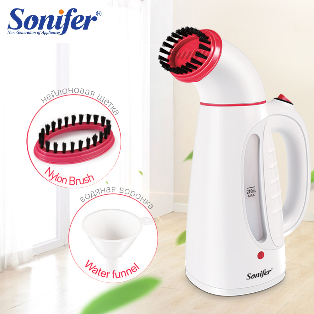 Travel Garment Steamer Iron Handheld Steamers Electric Brush For Ironing Clothes Portable Electric Iron For Clothes Sonifer