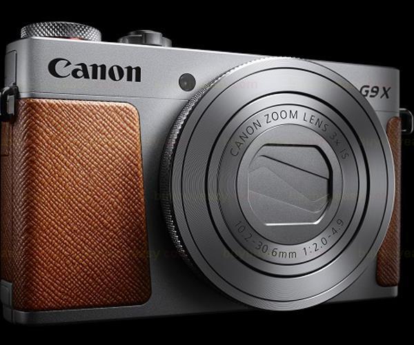 New Canon PowerShot G9X 20.2M Full HD Wi-Fi Digital Camera - Silver new canon eos 80d hd wi fi digital slr camera
