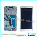 for Huawei Honor 5X LCD Display with Touch Screen digitizer with Frame assembly full sets ,Black white golden,100% Best quality