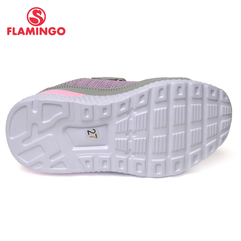 Marca QWEST, plantillas de cuero, arco transpirable, zapatos deportivos para niños, tamaño de Velcro 24 30, zapatillas para niños para niñas 91K JL 1215 - 3