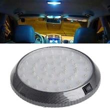 1Pcs 12V DC Car LED Dome Light Roof Ceiling Interior Lamp for Camper Home Boat Trailer RV Lights цена и фото