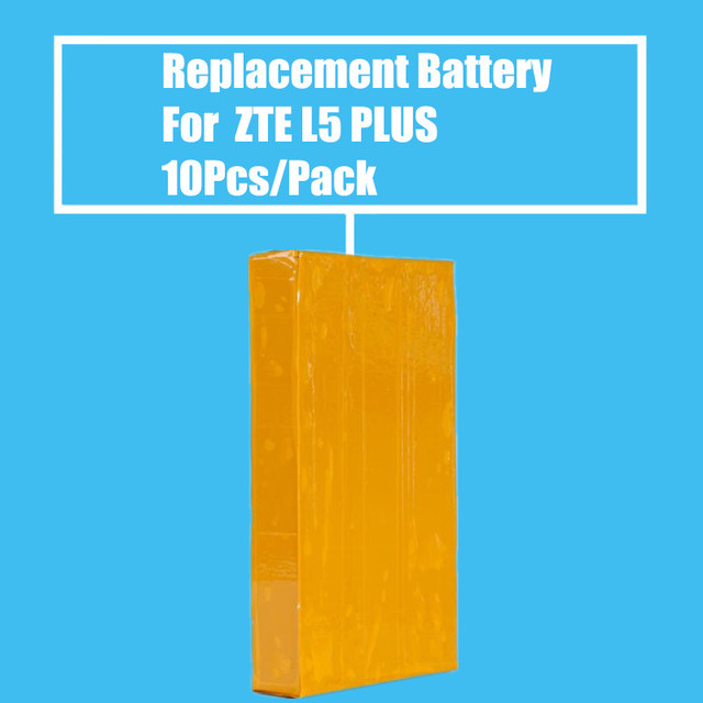 New Arrival 10Pcs/Pack Replacement Battery 2150mah for ZTE Blade L5 Plus High Quality