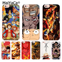MaiYaCa One Piece Luffy Monkey Coque Shell Phone Case for Apple iPhone 8 7 6 6S Plus X 5 5S SE XS XR XSMAX(China)