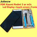 High Quality FOR Xiaomi Redmi 3 or m3s Lcd Display+touch screen+Frame Digitizer Assembly Replacement Accessories For Phone