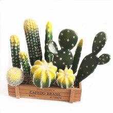 1pcs Artificial Plants Vivid Cactus Decoration Flower Wedding /Party/Bedroom/Office Decorations 29