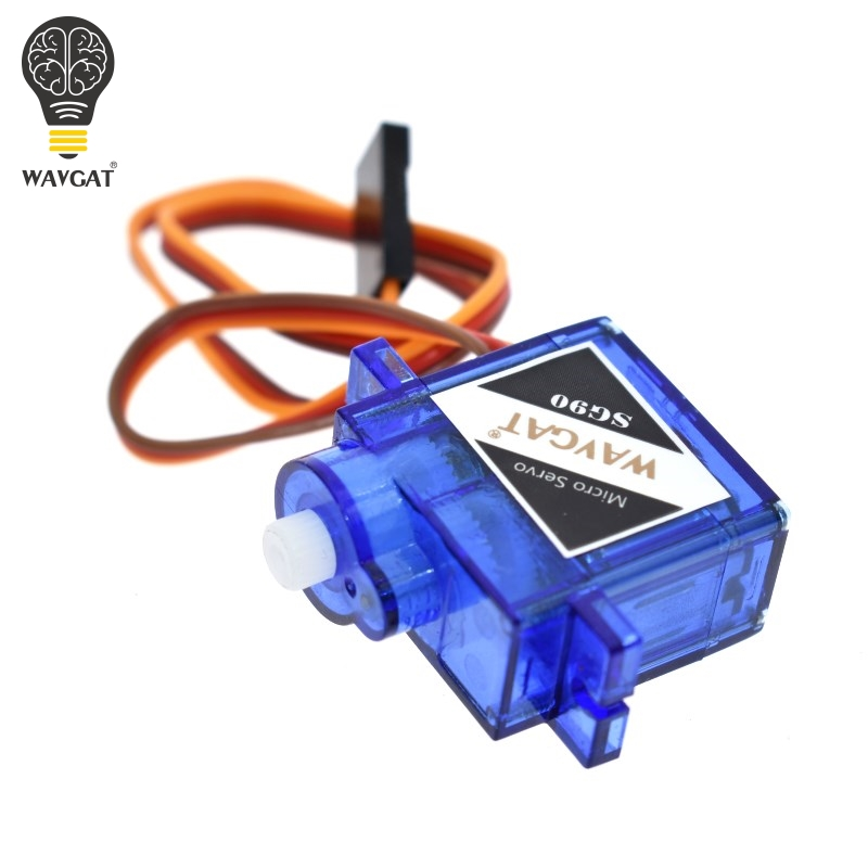 WAVGAT official Smart Electronics Rc Mini Micro 9g 1.6KG Servo SG90 for RC 250 450 Helicopter Airplane Car Boat