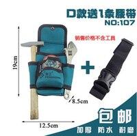 Oxford doek Elektriciens Taille Pocket Tool Riem Pouch Tas Hamers & moersleutels Carry Case Houder