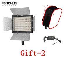 Yongnuo yn600 ii yn600l ii 5500 К светодиодные лампы видео + сокол глаза AC Адаптер Поддержка Дистанционного Управления по Телефону App для интервью