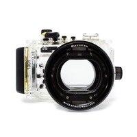 Mcoplus 40m 13oft à prova dwaterproof água subaquática mergulho habitação caso da câmera para canon powershot s110 camera case case for canon dive housing -