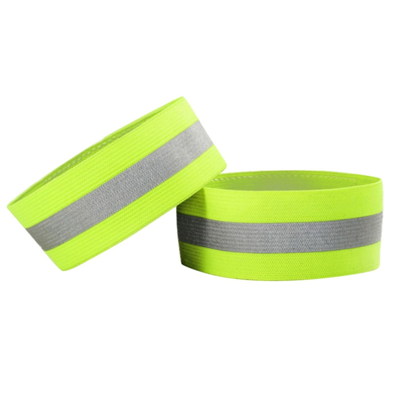 Hot! 1 Pair Set Autumn Outdoor Running Night Sports Cycling Reflective Wrist Ankle Straps Emergence Safety Warning Bands 1 pair bicycle cycling pedal straps belts fix bands tape generic for most schwinn