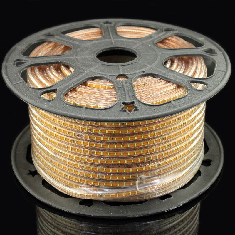 100m led strip 3014 SMD 220V tape LED light 120led/meter ( Warm white+White) for Decoration + power plug hzled g9 2w 200lm 3000k 58 x smd 3014 led warm white light lamp white 220v