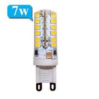 10pcs Led G9 AC 220V 7W 9W 10w 12w 2835 3014 LED Crystal Lamps Candle Replace