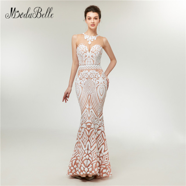 d34a69a0a796 modabelle Romantic Sequin Prom Dress Mermaid Mezuniyet Balosu Elbiseleri Fast  Shipping Sparkly Long Evening Gowns 2018