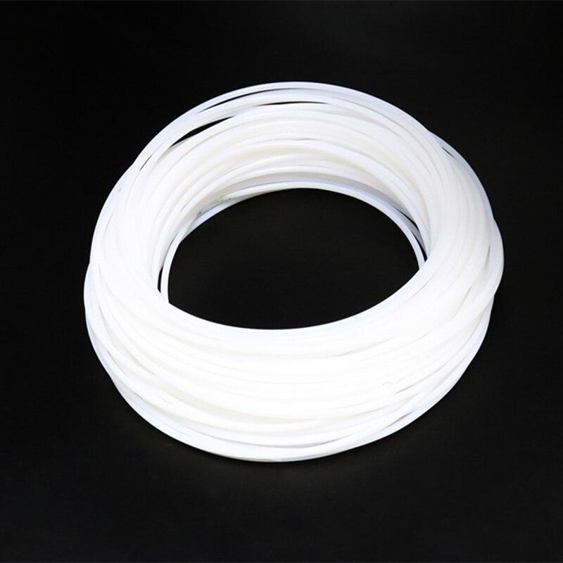 5M 2*4MM PTFE Teflon Long Distance Feed Tube for 1.75 mm/3.0mm Filament ptfe 1.75 RepRap Makerb/Mendel DIY 3D Printer Parts m6 feed shaft axis reprappro mendel huxley for 3d printer