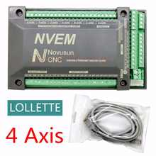 4 Axis  NVEM  CNC Controller 200KHZ Ethernet MACH3 Motion Control Card for Stepper Motor - DISCOUNT ITEM  0% OFF All Category