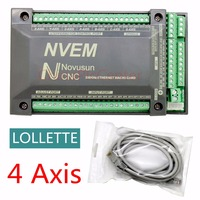 NVUM NVEM CNC Controller 200KHZ Ethernet MACH3 Motion Control Card For Stepper Motor 4 Axis