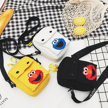 2019 new mobile phone bag Messenger summer mini vertical zero wallet
