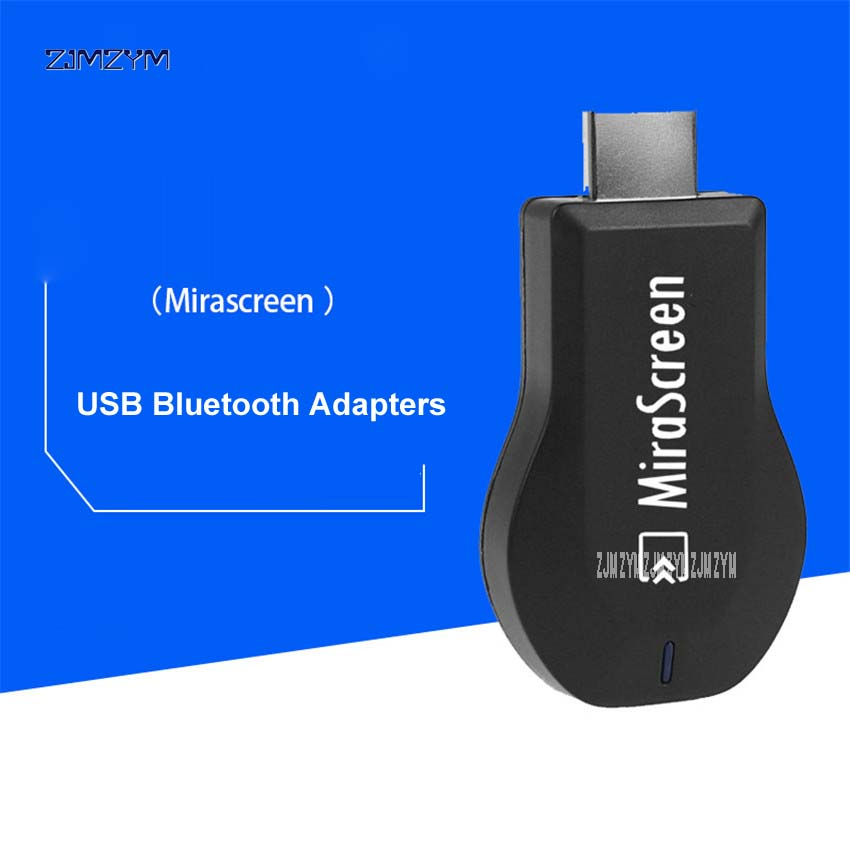 100 шт. M2 Беспроводной ключ ТВ <font><b>HDMI</b></font> Mirascreen 2,4 г Wi-Fi приемник Поддержка iOS Android Arplay Miracast ТВ 1920*1080