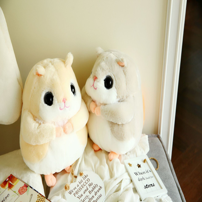1pc 35cm Kawaii Flying Squirrel Plush Toys Staffed Animal Doll Cute Chipmunk Hamster Soft Pillows Children Kids Birthday Gifts