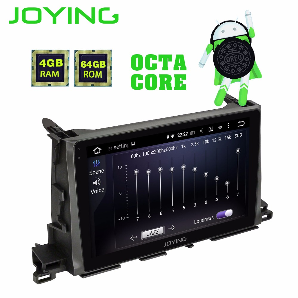 Joying 10 1 inch HD Touch Screen 4GB 64GB Android 8 0 Car Radio RDS for