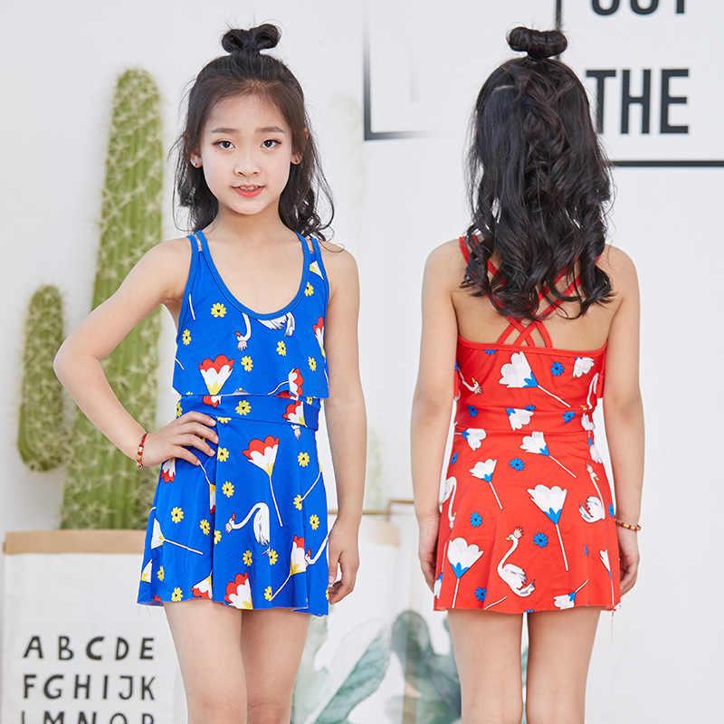 61f6d0777 For 3-8 years Kids swimwear Beach Wear Bathing Suit girls swimsuit one-piece