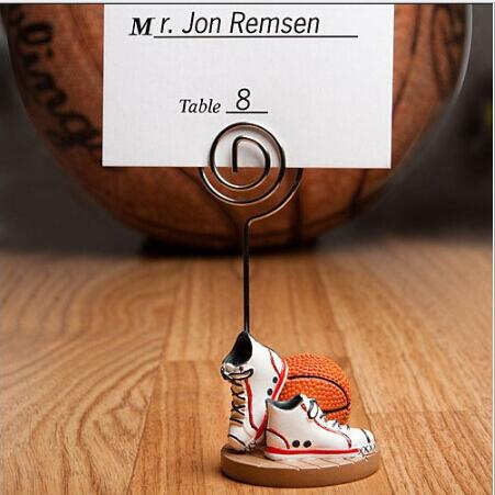 20pcslot Basketball Design Place Card Holderphoto Holders Sports