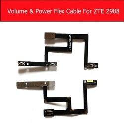 Ligar/desligar power & volume cabo flexível para zte grand x max2 z988 controle de áudio keypads & power sleep botão interruptor peças reposição
