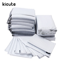 Kicute 10/30/50pcs Overvalue White Poly Bubble Mailers PE Plastic Padded Envelope Shipping Bags Mailing Bags 180x235mm