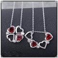 Fabulous original Pingente de Design Para As Mulheres granada vermelho natural garnet pingente 925 Prata Esterlina Sólida jóias finas para a senhora