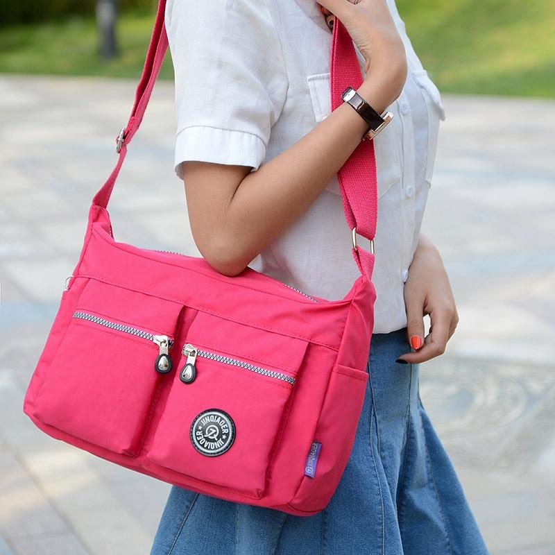 2016 new Korean fashion women shoulder bag Waterproof nylon bag Shoulder Messenger Multilayer bags women bag