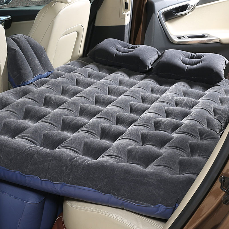 2018 new Car Back Seat Cover Car Air Mattress Travel Bed Inflatable Mattress Air Bed Good Quality Inflatable Car Bed full set tpu car air bed inflatable car air mattress travel bed inflatable camping bed folding bed