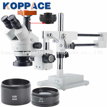 21MP Full HD 1080P 60FPS HDMI Electron Industry Digital Microscope Camera  Mobile phone repair 3.5X-90X Stereoscopic Microscope - DISCOUNT ITEM  4% OFF All Category