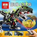 2017 NEW LEPIN 24010 792pcs super 3 in 1 dinosaur remote control sound Toys function for Educational Building Blocks Bricks gift