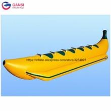 цена на 6 seats adults popular banana boat with free pump,China fly fish towable banana boat for water sports