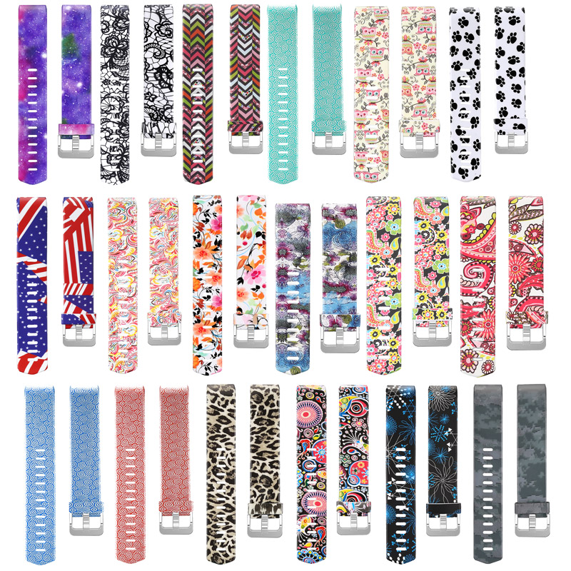 Silicone Colorful Wrist Strap For Fitbit Charge 2 Watch Band Activity Tracker Fitness Health Bracelet Smart Correa For Fit Bit