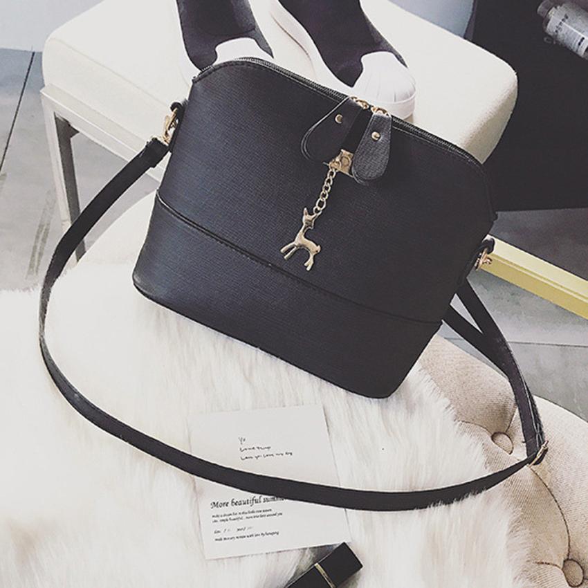 Женская Мода из искусственной кожи в стиле ретро палевый Декор сумка Для женщин Сплошной Цвет молния Shell сумка # F