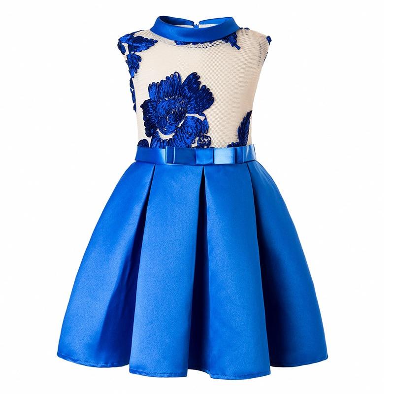 Children girls, girls, flowers, baby girls, butterfly dresses, baby wedding dresses, princess birthday party dress2017