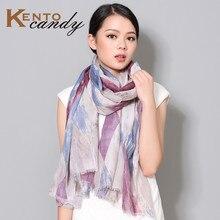 Plaid scarf women winter 2016 new fashion sping tartan cotton muffler shawl warm hijab tassel gift