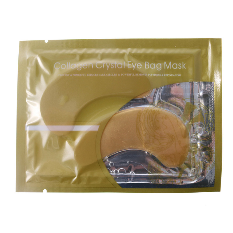 50pairs/lot = 25packs] Gold Eye mask,Natural Crystal Collagen ,Anti-Aging Face care Skin care Eye patches,skin care