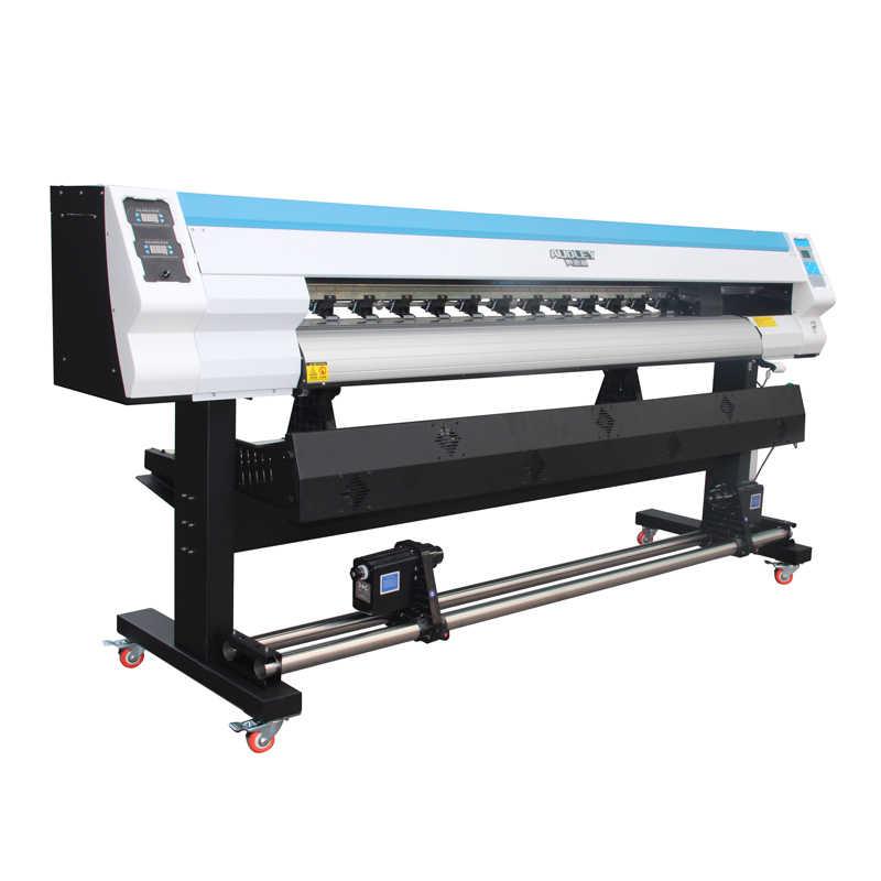 Otomatis Murah DX5/DX7/XP600 Kepala Inkjet Eco Solvent 180 Cm Outdoor Printer