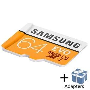Image 3 - Карта памяти SAMSUNG Microsd, 256 ГБ, 128 ГБ, 64 ГБ, 100 МБ/с./с, класс 10, U3, 32 ГБ, 95 МБ/с./с, U1, SDXC, EVO, карта Micro SD, TF флеш карта