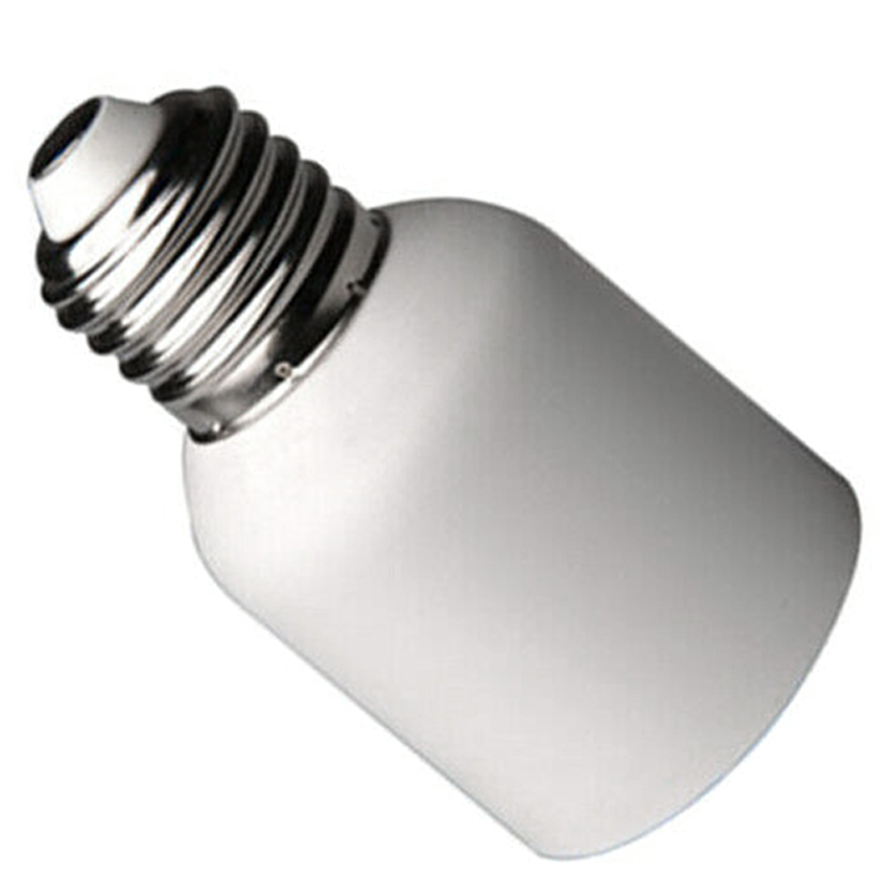 E27 To E40 Socket White Medium Light Lightweight Led Heat Resistant Home Adapter Lamp Holder Converter Screw Base Fireproof Bulb