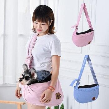 ¡Novedad! Bolso de mano libre Reversible con correas para perros y gatos, bolsa de viaje, bolsa de viaje, bolsa de hombro, Yorkie M L