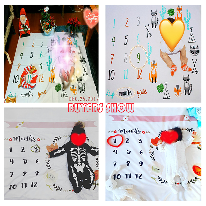 Babykläder Swaddle Wrap Nyfödda Mode Badhanddukar Blomsttryckta Söt Mjuka Blankett DIY Spädbarn Barn Fotografi Rekvisita