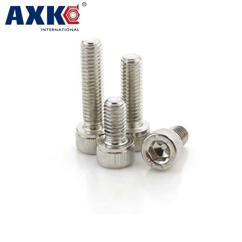 AXK M6 M6*25 M6x25 M6*50 M6x50 304 316 Stainless Steel ss DIN912 Metric Thread Allen Head Bolt Hex Hexagon Socket Cap Screw сервер lenovo x3250 m6 3943e6g