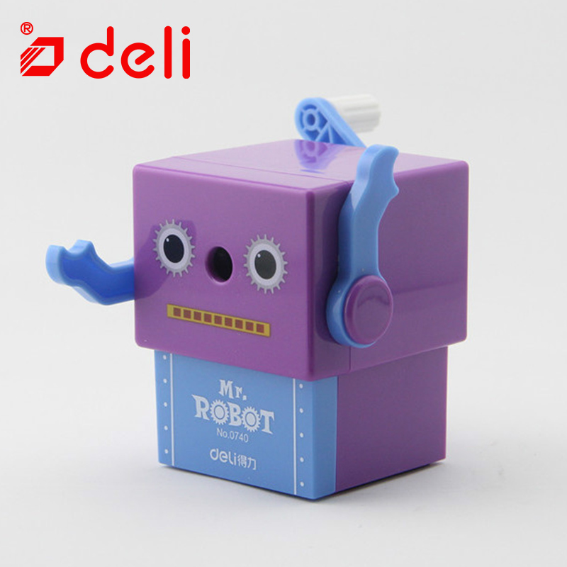 Deli stationery mechanical pencil sharpener student cute kawaii pencil sharpener for kids office & school supplies 4 colors 0740 deli stationery pencil sharpener mechanical cartoon kawaii pencil sharpener cute pencil sharpener office & school supplies