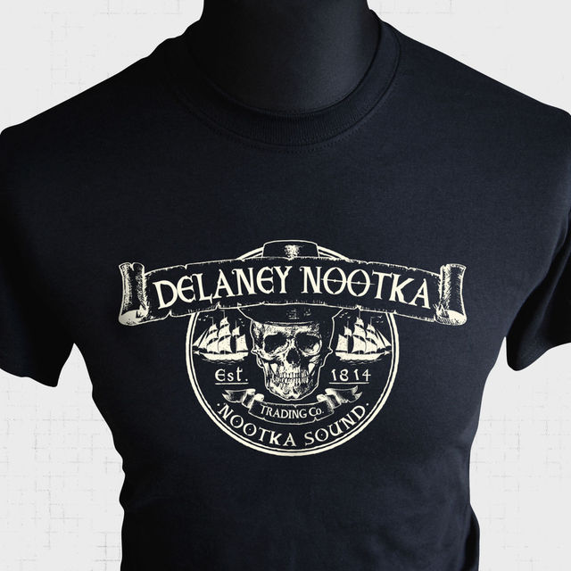 a21dc56a Delaney Nootka Trading Co T Shirt Inspired By Taboo Tom Hardy Cool TV  Series Tee New