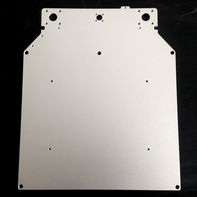 Ultimaker 2 UM2 Z Table Base Plate platform supporting aluminum heated hot bed plate 3D printer parts 3d printer accessory hot bed aluminum heating base board silver