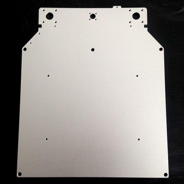 Ultimaker 2 um2 Z tabla Bases placa plataforma de aluminio caliente cama caliente placa 3D piezas de la impresora